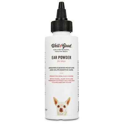 Well & Good Dry Ear Powder for Dogs, 1 oz.