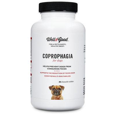 Well & Good Coprophagia Dog Tablets, 60 count