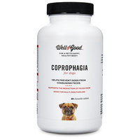 Well & Good Coprophagia Dog Tablets, 120 count