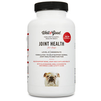 Well & Good Joint Support II Dog Tablets, 60 count
