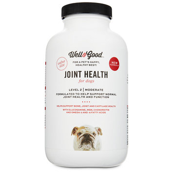 Well & Good Joint Support II Dog Tablets, 120 count