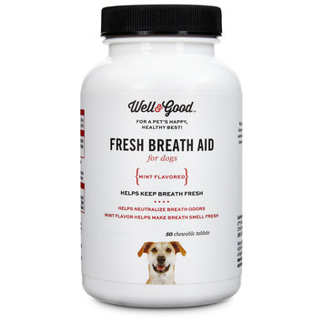 Petco Well & Good Fresh Breath Dog Tablets, 50 count