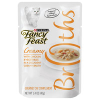 Fancy Feast® Wet Cat Food With Chicken & Vegetables In A Decadent Creamy Broth
