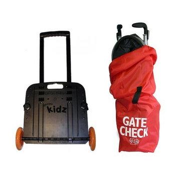 GoGo Babyz Kidz Travelmate with Umbrella Stroller Gate Check Bag