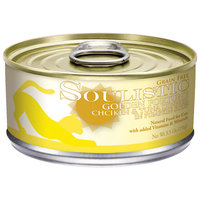 Soulistic Golden Fortune Chicken & Tuna Dinner Adult Canned Cat Food In Pumpkin Soup, 5.5 oz, Case of 8