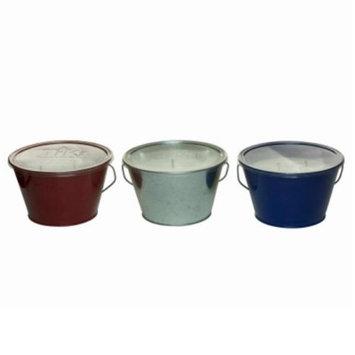 Lamplight Farms 231284 28 oz Americana Citronella Candle Bucket Assorted