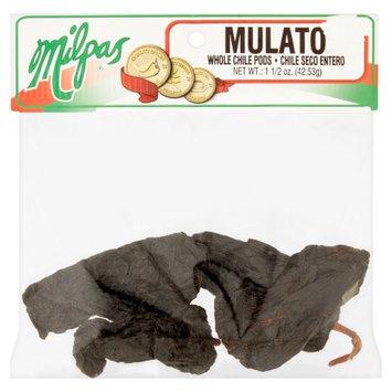 Milpas Foods Milpas Mulato Whole Chile Pods, 1 1/2 oz