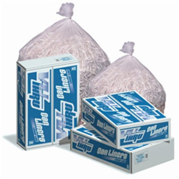 Inteplast Pitt P-S4517-C Can Liner 43 x 47, 1.3 Mil Clear 100/Case Flatpack