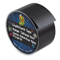 Chalkboard Duck Tape 1.88inX15yd Black