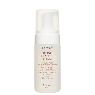 Fresh Rose Cleansing Foam Face Wash