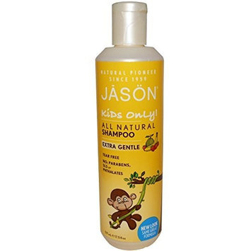 Jason Natural, Kids Only!, Shampoo, Extra Gentle, 17.5 fl oz (517 ml) -- 2PC by Jason Natural