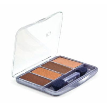 CoverGirl Queen Collection Eye Shadow Quads desert bronze 225, 0.19-Ounce Pan (Pack of 3)