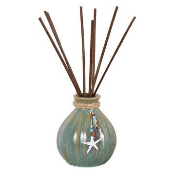 San Miquel Chloe Starfish Diffuser 10-piece Set, Blue