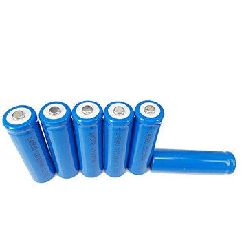ON THE WAY®6Pcs 3.7V 14500 1200mAh Rechargable Li-Ion Batteries