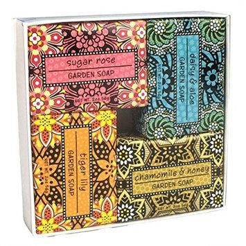 Shea Butter Soap Sampler - Set of 4 Assorted Scents