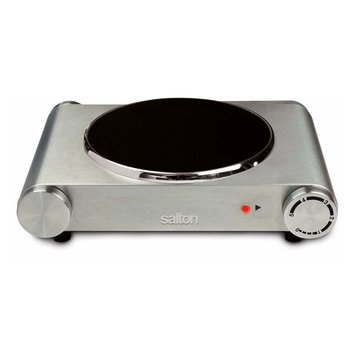 Salton Infrared Induction Cooktop, Grey