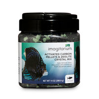 Imagitarium Activated Carbon Pellets & Zeolite Crystal Mix, 14 oz.