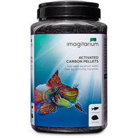 Imagitarium Activated Carbon for Fresh or Salt Water Aquariums, 45 oz.
