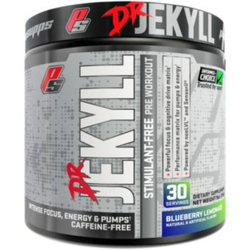 DR. JEKYLL STIMULANT- FREE BLU (255G) - BLUEBERRY LEMONADE (9 Ounces Powder) by ProSupps at the Vitamin Shoppe