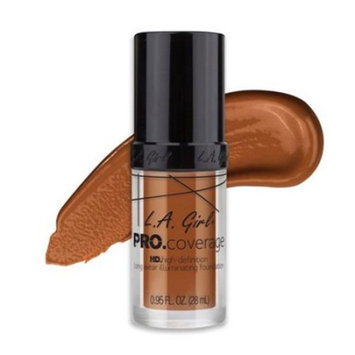(6 Pack) L.A. Girl Pro Coverage Illuminating Foundation - Toast
