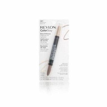 Revlon Color Stay Brow Enhancer Blonde/Gold (2-pack)