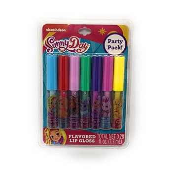 Sunny Day Flavored Lip Gloss Party Pack ~ 7 pack
