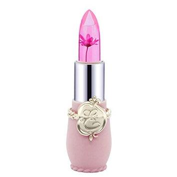 Wenjuan Magic Temperature Change Color Lip Balm Beauty Bright Flower Crystal Jelly Sexy Long-Lasting Moisturizer Lipstick Makeup