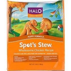 Halo Spots Stew Puppy Chicken Dry Dog Food 18lb