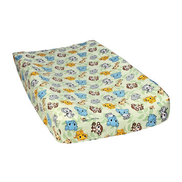 Trend Lab Trend-Lab Chibi Zoo Baby Diaper Changing Pad Cover Cotton