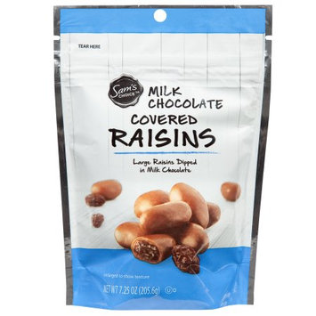 Wal-mart Stores, Inc. Sam's Choice Milk Chocolate Covered Raisins, 7.25 oz
