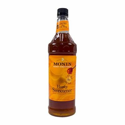 Monin Honey Liquid Drink Syrup, 1 Liter (01-0059) Category: Drink Syrups