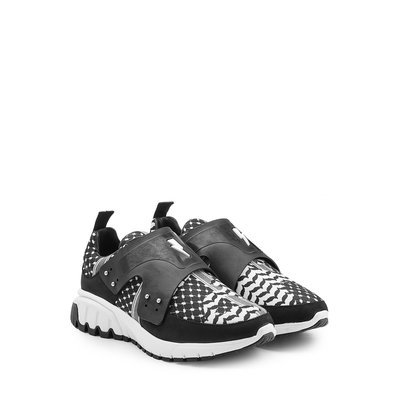 Printed Leather Sneakers Gr. EU 40