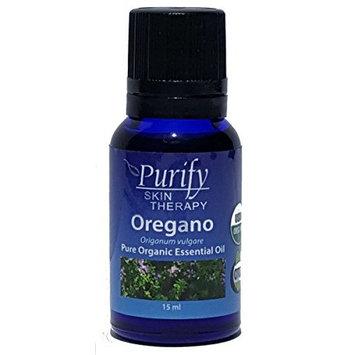 Oregano Essential Oil USDA Organic, 100% Pure 15ml