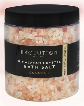 Evolution Salt Company - Himalayan Crystal Bath Salt Coconut - 26 oz.(pack of 6)
