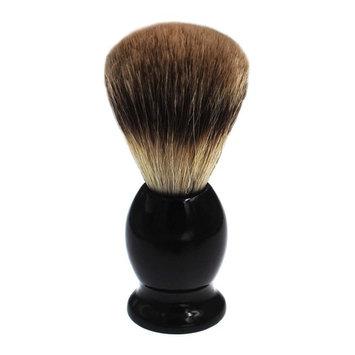 JINTOP 100% Pure Badger Shaving Brush Hair Wet Shaving Wood Handle Professional Facial Cleaning Tool Black