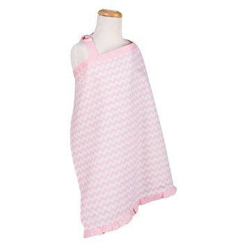 Trend Lab Sky Chevron Nursing Cover, Pink