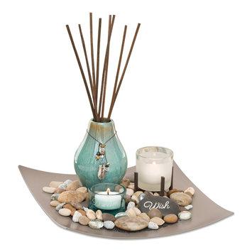 San Miquel Sea Grass & Lotus Reed Diffuser 5-piece Set, Multi/None