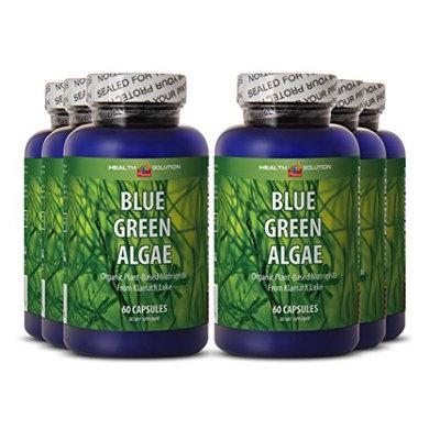 Blue algae supplement - BLUE GREEN ALGAE - prevent candida overgrowth (6 bottles)