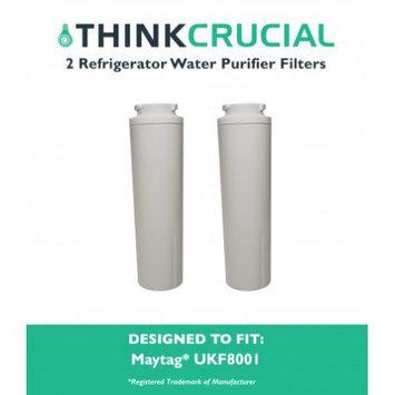Crucial Air 2 Maytag UKF8001 Refrigerator Water Purifier Filters Fit Maytag UKF800 & UKF-8001P