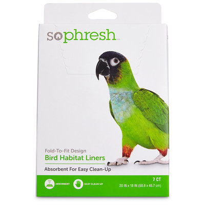 So Phresh Absorbent Cage Liners for Birds