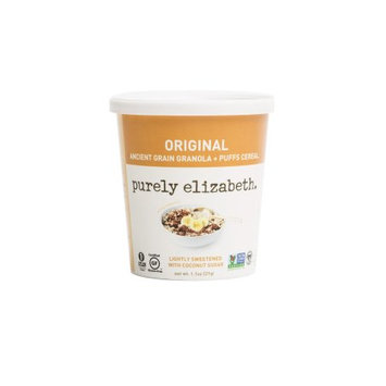 Purely Elizabeth Granola + Puffs Cereal - Single Serve Cups, Original, 1.1 Oz