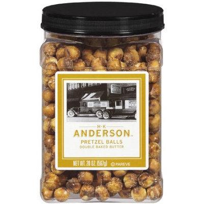 H.k. Anderson H K Anderson: Double Baked Butter Pretzel Balls, 20 Oz