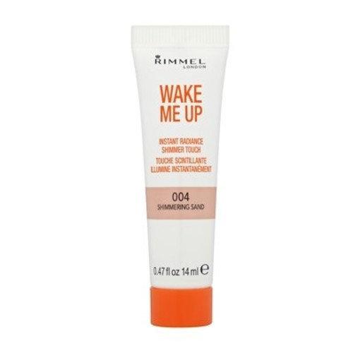Rimmel Wake Me Up Instant Radiance Shimmer Touch 14ml 004 Shimmering Sand