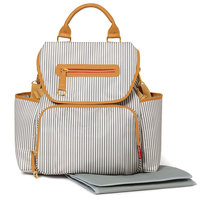SKIP*HOP® Grand Central Take-It-All Backpack Diaper Bag in French Stripe
