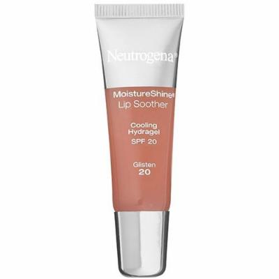 Neutrogena Moisture Shine Lip Soother with SPF 20 Glisten (2-Pack)
