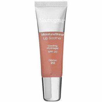 Neutrogena Moisture Shine Lip Soother with SPF 20 Glisten (2-Pack)