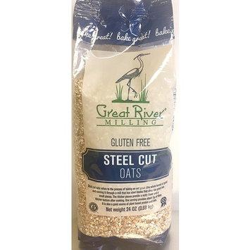 Great River Milling Gluten Free Steel Cut Oats [Steel Cut]