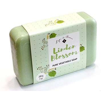 French Soap - Linden Blossom By L'epi De Provence - 200 Gram Bar