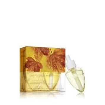Bath and Body Works Slatkin & Co. Autumn Wallflower Refills 2 Bulbs