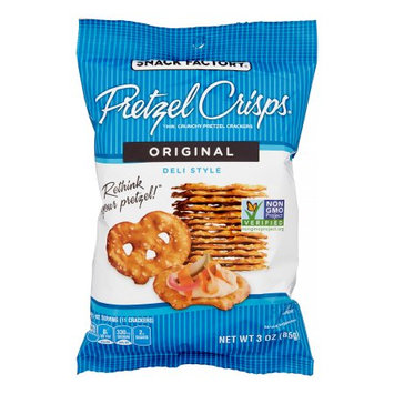 Snack Factory Pretzel Crisps - Original - 3 oz - 8 ct